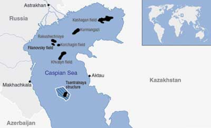 Caspian Sea operators advance respective development projects ...