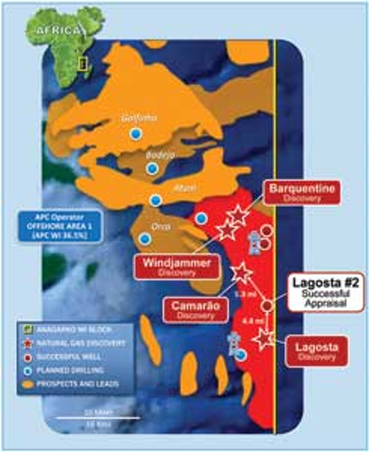 Mozambique, Tanzania emerging as prolific deepwater gas