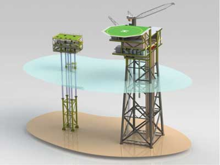 Minimum facilities platform provides alternative for