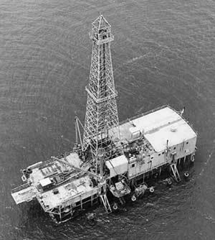Modern offshore fleet comprised of same rig types as in the