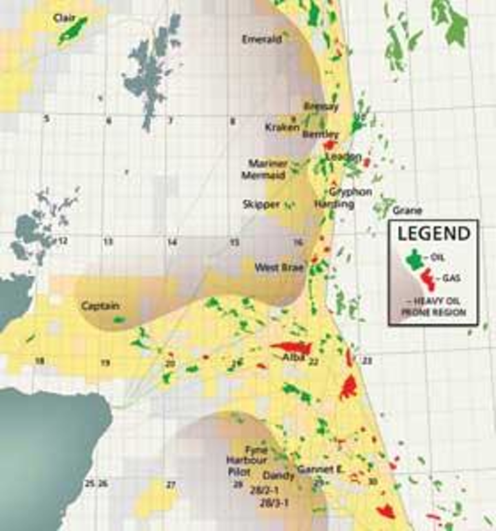 Map Of Uk Oil Fields.Investors Closing In On Heavy Oil In Uk Sector Far North Offshore