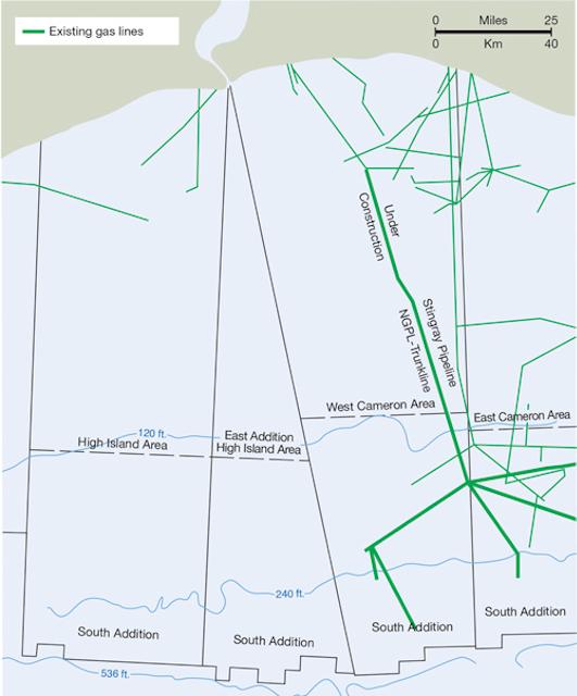 Stingray pipeline system pushed envelope of deepwater