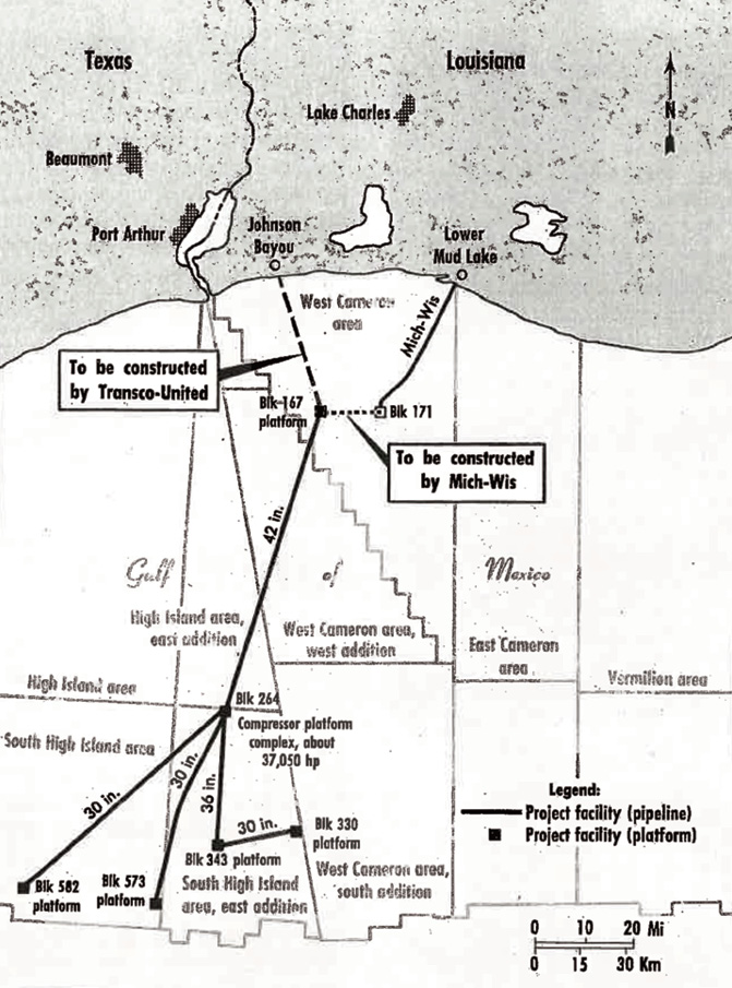 continental oil system diagram high island offshore system brought several  firsts  to pipelining  high island offshore system brought