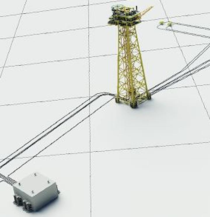 Solan oil field development