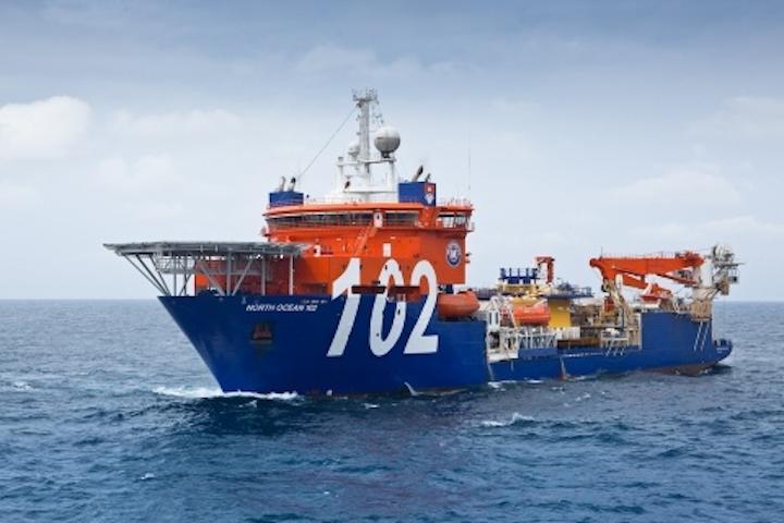 McDermott North Ocean 102