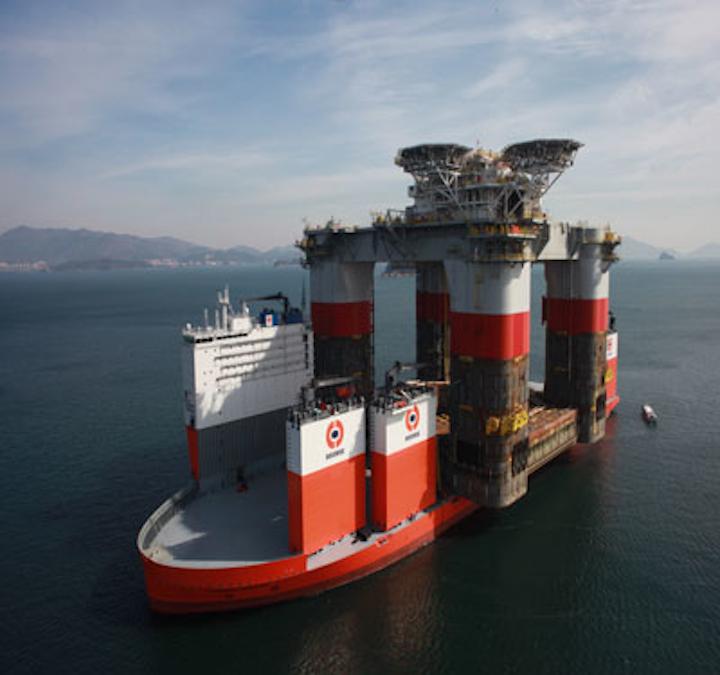 Dockwise Vanguard Jack St Malo
