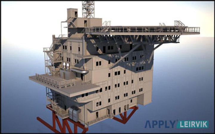 Apply Leirvik offshore living quarters