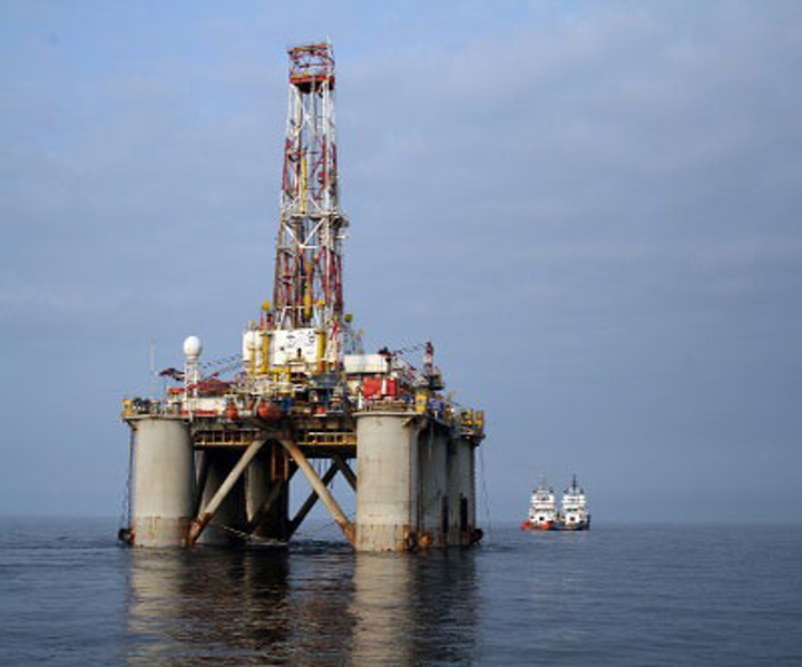 Drilling operations at Kirinskoye field