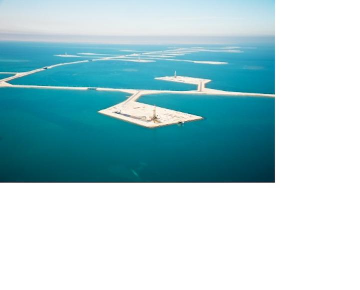 Manmade islands for Manifa Bay development