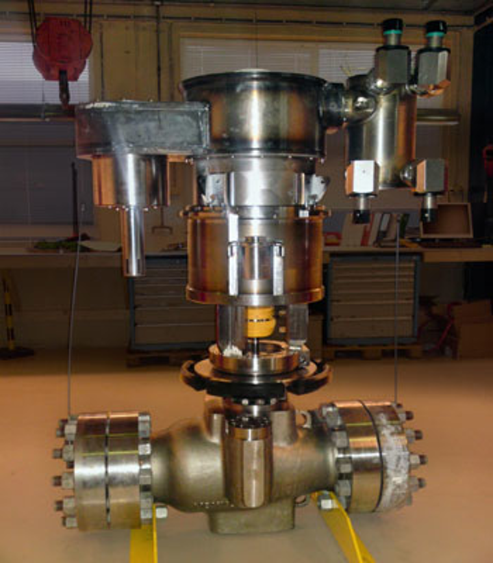 Mokveld subsea anti-surge control valve