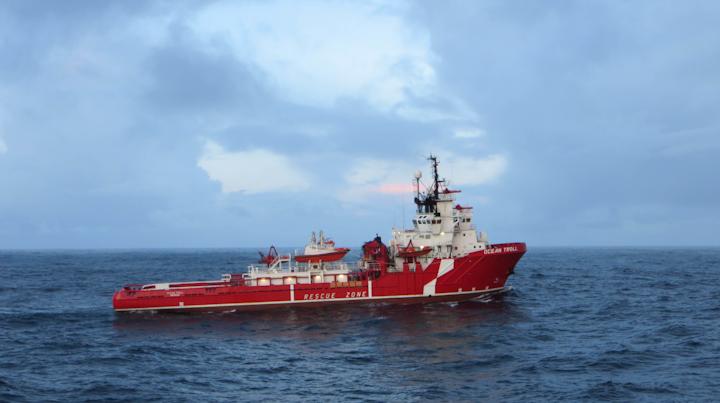 Ocean Troll North Sea emergency response vessel