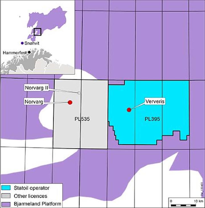 Statoil, Total swap Barents' interests