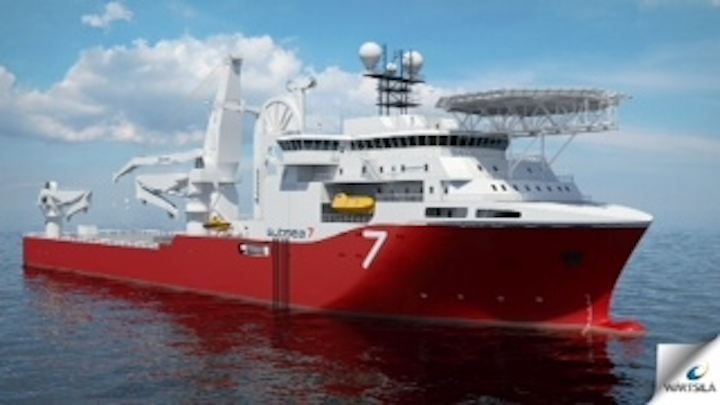Subsea 7 heavy construction vessel