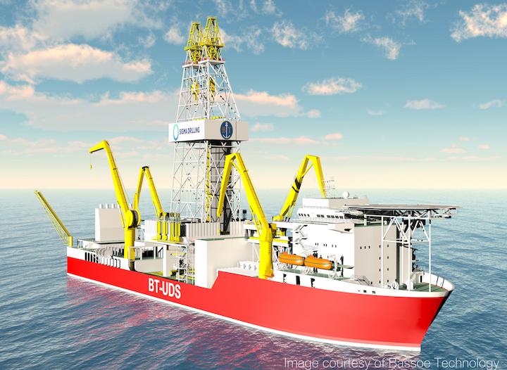 BT-UDS design drillship by Bassoe