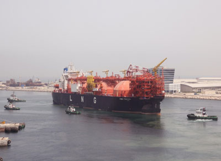 Floating storage re-gasification unit Toscana