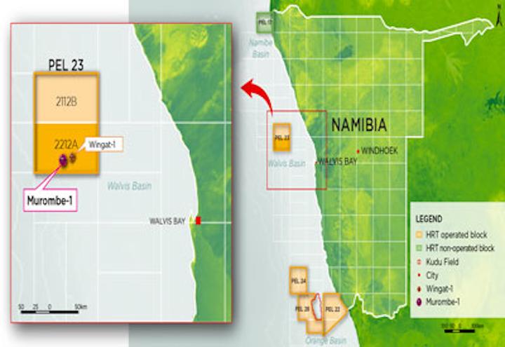 HRT offshore Namibia