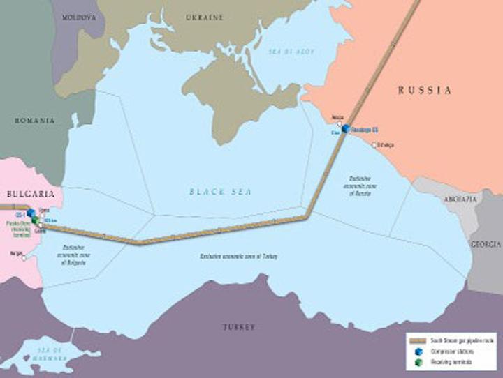 South Stream gas pipeline