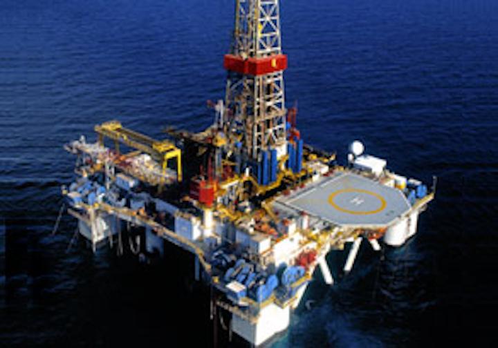 Atwood Hunter semisubmersible drilling rig