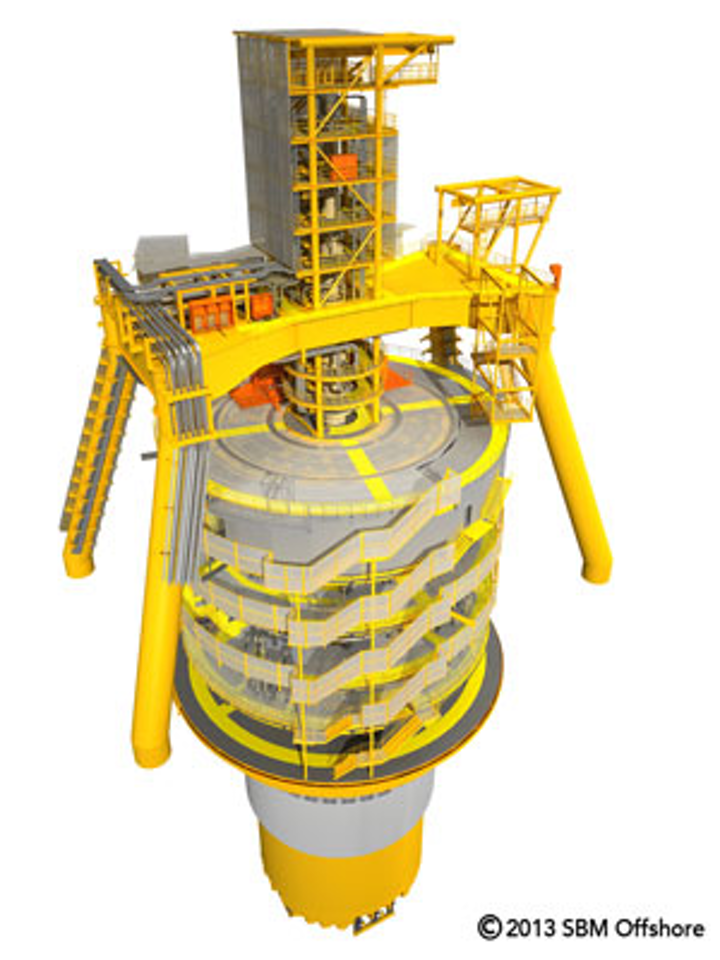 BP Quad 204 Turret Mooring System