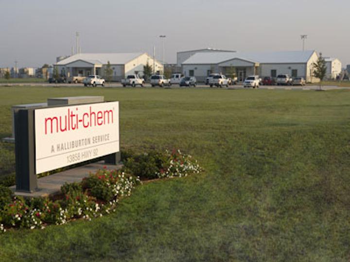 Halliburton Multi-Chem Maurice, Louisiana plant