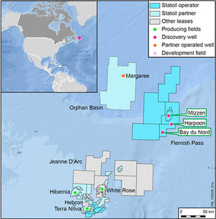 Deepwater Bay du Nord offshore Canada