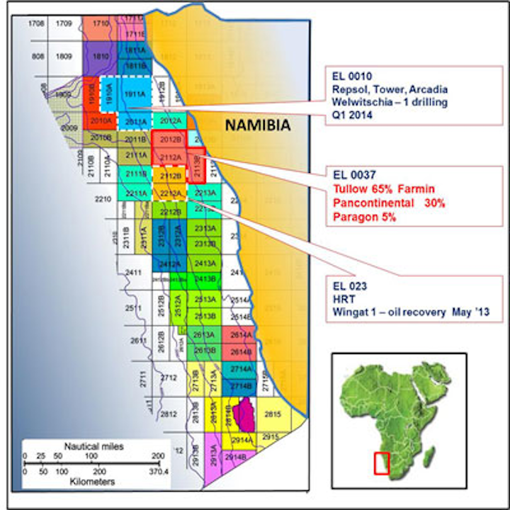 Offshore Namibia