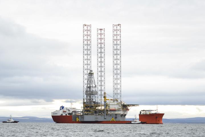 Jackup drilling rig Prospector 1