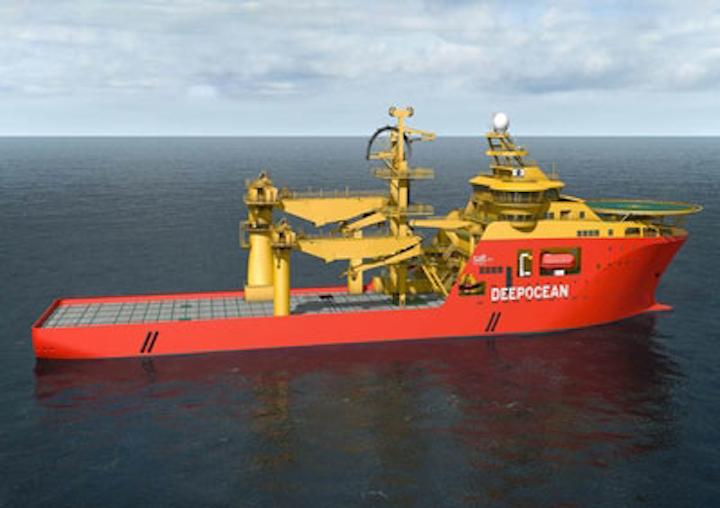 Kleven Deep Ocean offshore construction vessel