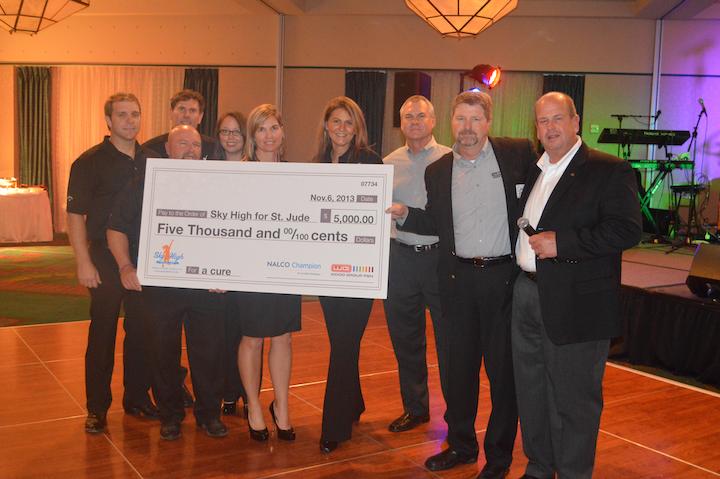 Nalco Champion, Wood Group PSN make St. Jude donation at Deepwater Operations