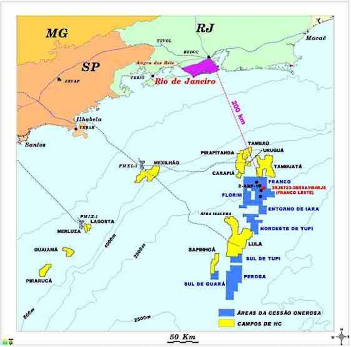 Petrobras Franco Area Well