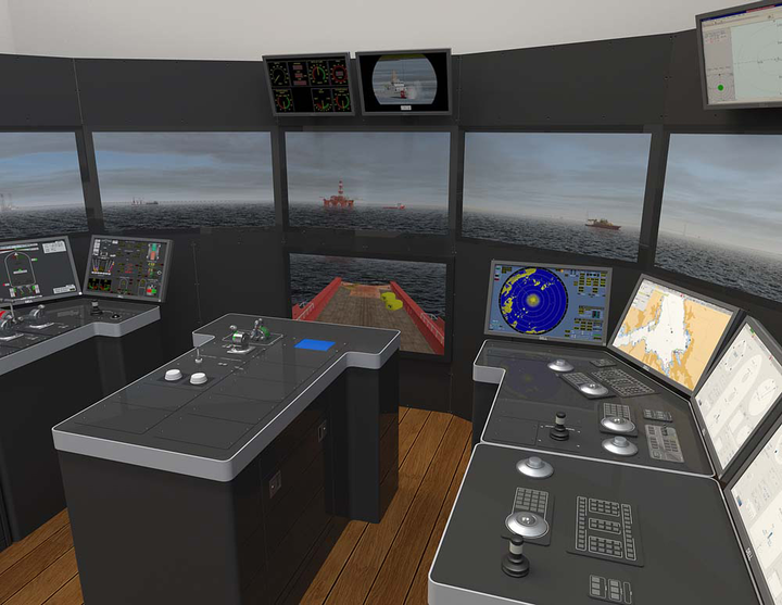 K-Sim DP Manoeuvring simulator from Kongsberg Maritime