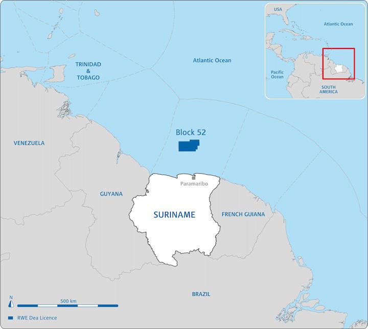 License Block 52 offshore Suriname