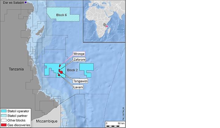 Block 2 offshore Tanzania