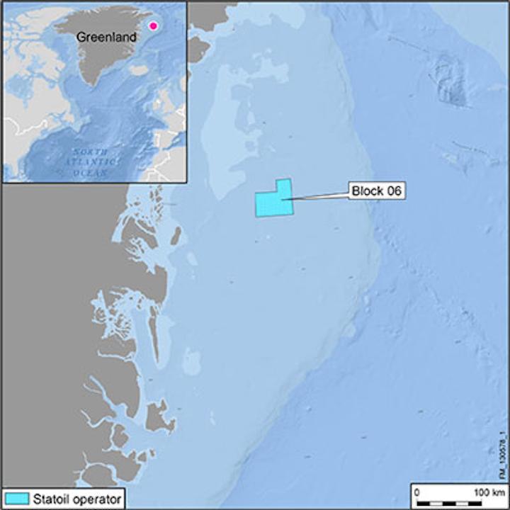 Statoil offshore northeast Greenland block 6