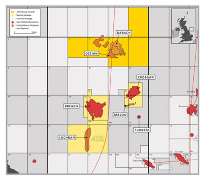 UK 27th Offshore Licensing Round