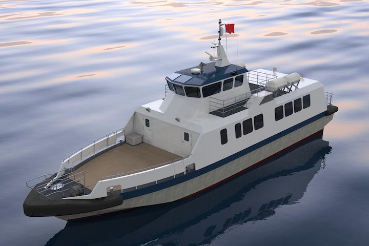BMT crew boat design