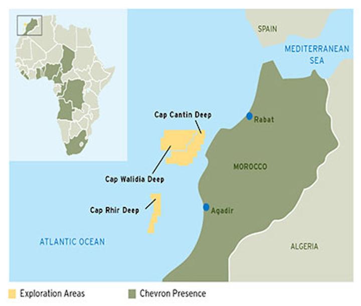 Chevron Morocco Exploration