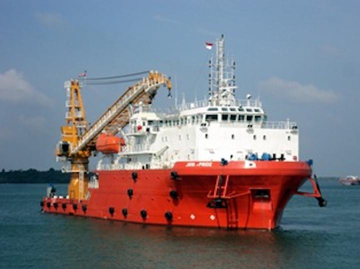 Jaya Pride offshore support vessel