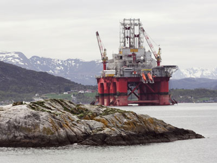 Offshore Norway oil drilling