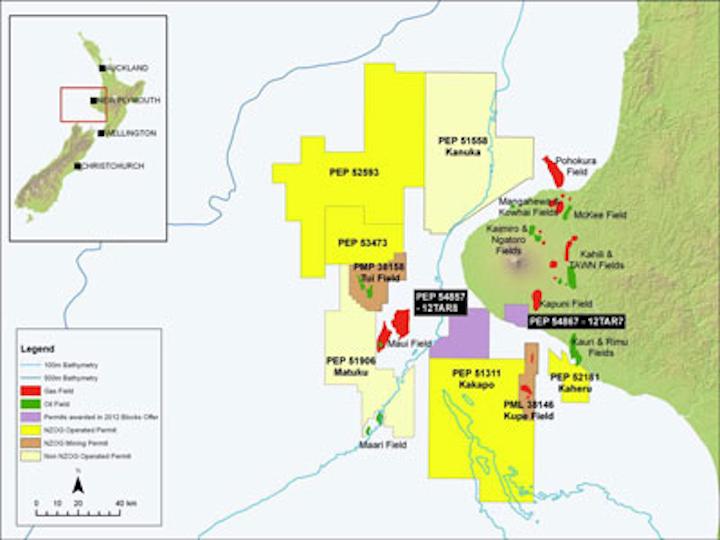 New Zealand Oil & Gas