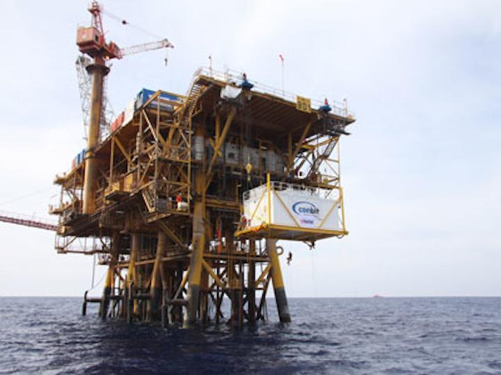 BD-1 platform offshore Libya