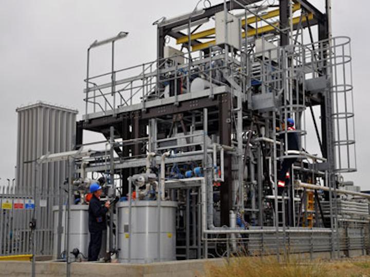Gas2 Wilton Research Center pilot plant Fischer Tropsch reactor