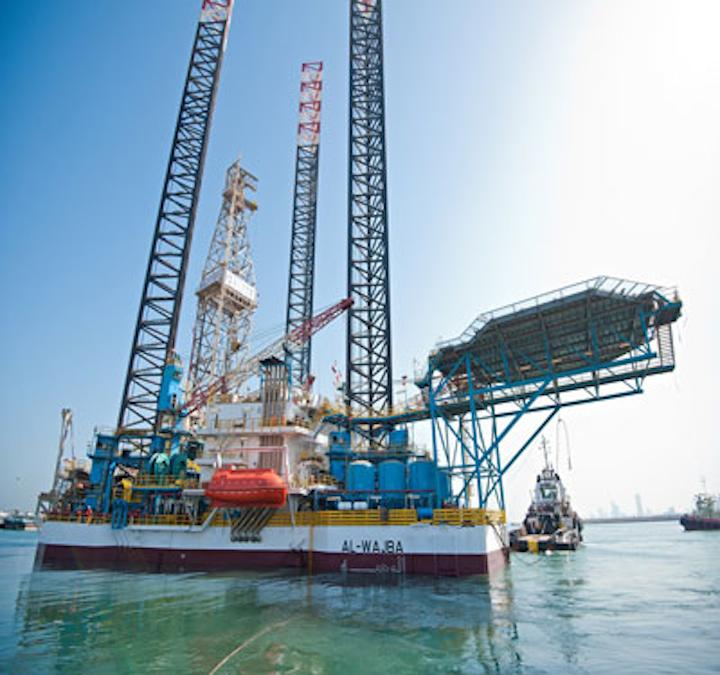 Gulf Drilling International's jackup Al Wajba