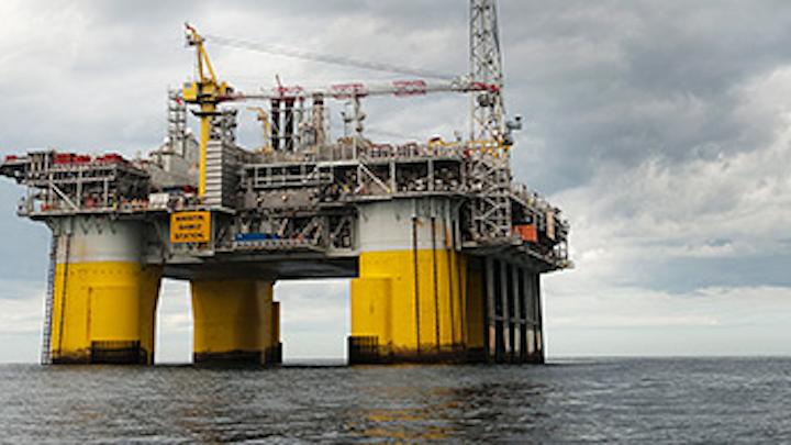 Kristin platform in the Norwegian Sea (Photo courtesy Marit Hommedal)