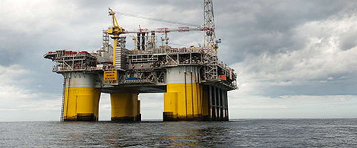 Kristin platform in the Norwegian Sea (Photo courtesy Marit Hommedal)
