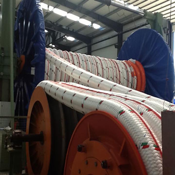 Lankhorst Ropes Gama 98 polyester deepwater mooring rope