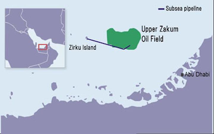 Upper Zakum offshore oil field