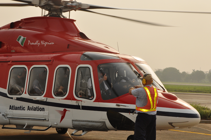 Atlantic Aviation's Agusta Westland 139 (AW139) helicopters