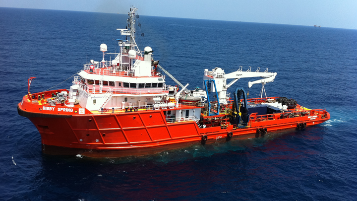 Support vessel Bibby Spring