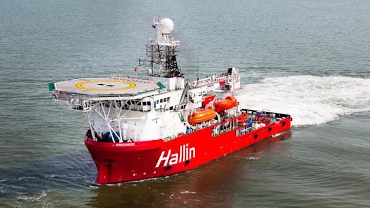 Hallin Marine vessel